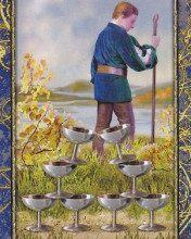 Eight of Cups: Thổ tinh trong Song Ngư 18