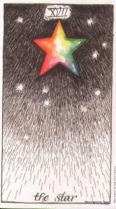 Lá The Star - Wild Unknown Tarot 1