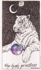 Ý Nghĩa Lá Bài The High Priestess Bộ BàiWild Unknown Tarot 1