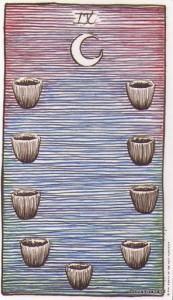 Lá Nine of Cups - Wild Unknown Tarot 1
