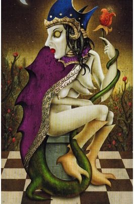 Lá III. The Empress - Deviant Moon Tarot 1