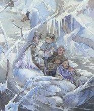 Lá Six of Winter - Victorian Fairy Tarot 11