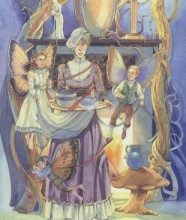 Lá Eight of Winter - Victorian Fairy Tarot 15