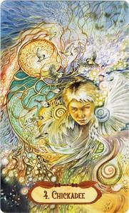 Hình Ảnh Ý Nghĩa Lá Bài 4. Chickadee Bộ BàiWinged Enchantment Oracle Kênh Kiến Thức Và Tri Thức