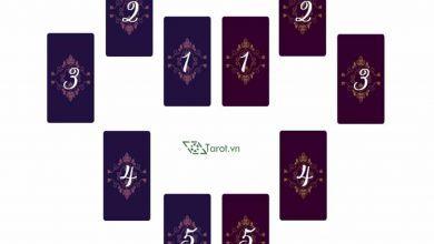 Trải Bài Tarot - Hai Nửa Trái Tim 3