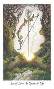 Ý Nghĩa Lá Ace of Bows Bộ BàiWildwood Tarot 1