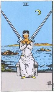 Hình Ảnh Ý Nghĩa Lá Bài 2 of Swords Trong Tarot Kênh Kiến Thức Và Tri Thức