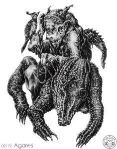 AGARES Con Quỷ Thứ 2 Của Vua Solomon 2