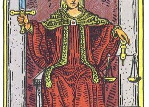 Ý Nghĩa Biểu Tượng 78 Lá Bài Tarot - Justice 33
