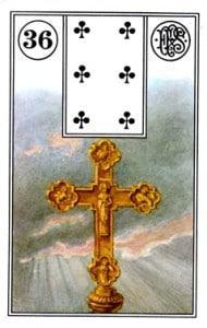 Ý Nghĩa Lá bài Lenormand Cross (36) 1