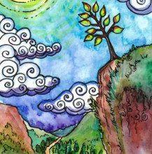 Ý Nghĩa Lá 0. The Fool - Tarot of Trees 2