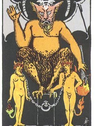 Ý Nghĩa Biểu Tượng 78 Lá Bài Tarot – The Devil 1