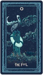 Lá The Fool - Prisma Visions Tarot 1