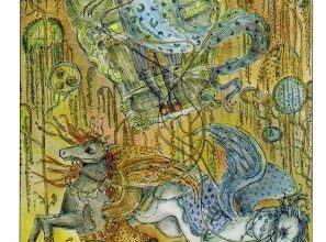 Lá VII. The Chariot - Paulina Tarot 4