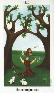 Lá III. The Empress - Sun and Moon Tarot 1