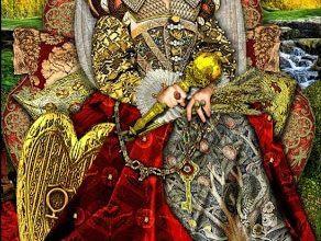Lá III. The Empress - Tarot Illuminati 8