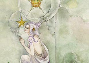 Lá Three of Pentacles - Shadowscapes Tarot 3