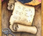 Hình Ảnh Lá Ace of Swords - Chrysalis Tarot Kênh Kiến Thức Và Tri Thức