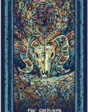 Lá The Emperor - Prisma Visions Tarot 6