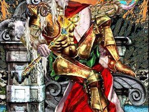 Lá IV. The Emperor - Tarot Illuminati 10