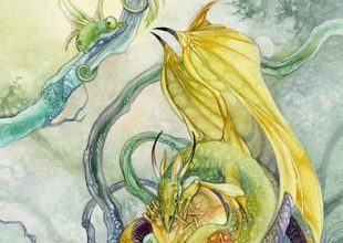 Lá Four of Pentacles - Shadowscapes Tarot 4