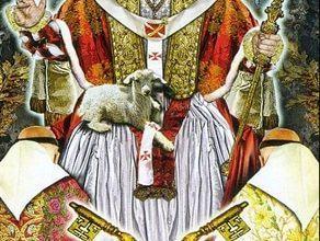 Lá V. The Hierophant - Tarot Illuminati 12