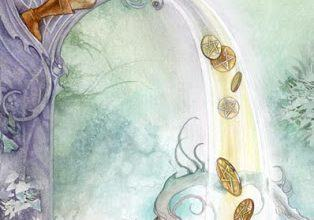 Lá Six of Pentacles - Shadowscapes Tarot 6