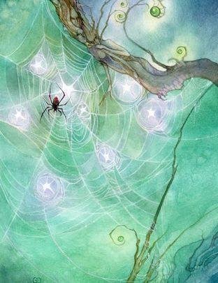 Lá Eight of Pentacles - Shadowscapes Tarot 1