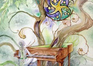 Lá Nine of Pentacles - Shadowscapes Tarot 9
