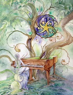 Lá Nine of Pentacles - Shadowscapes Tarot 1