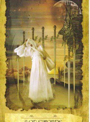 Lá 8 of Swords - Mystic Dreamer Tarot 1