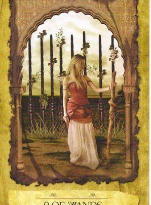 Lá 9 of Wands - Mystic Dreamer Tarot 1