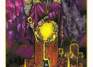 Lá IV. The Emperor - Revelation Tarot 6