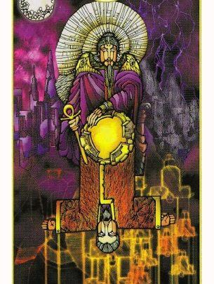 Lá IV. The Emperor - Revelation Tarot 1