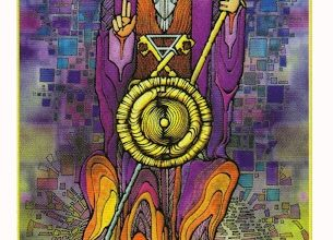 Lá V. The Hierophant - Revelation Tarot 7