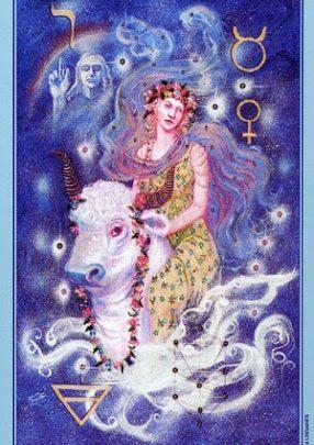 Lá V. The Hierophant - Celestial Tarot 1