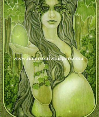 Lá Embrace the feminine - Messenger Oracle 1