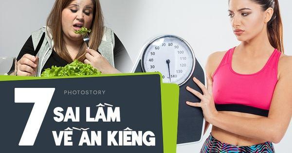 Nếu bạn chuẩn bị bước vào 1 chế độ ăn kiêng cần tránh những sai lầm sau - Kiến Thức Chia Sẻ 1